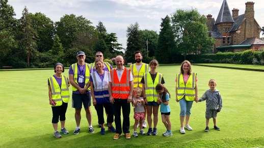 Friary park volunteers