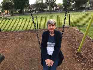 mum on swing today