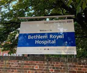 Bethlem Royal cover
