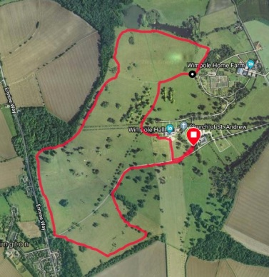 Wimpole course Map