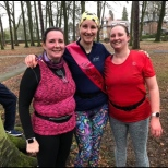Julie 100th parkrun