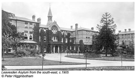 Leavesden Asylum 1905