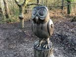 Gruffalo sculpture owl
