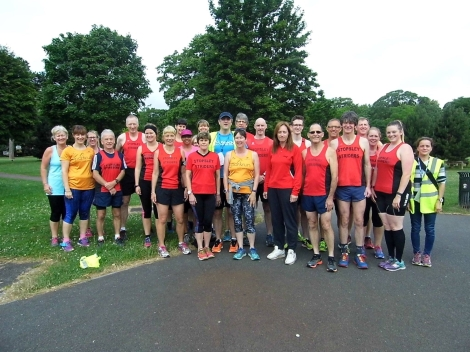 Stopsley Striders group shot!